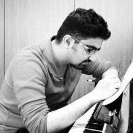 استاد نیما خواجه نصیر طوسی مدیر گروه آهنگسازی ایرانی