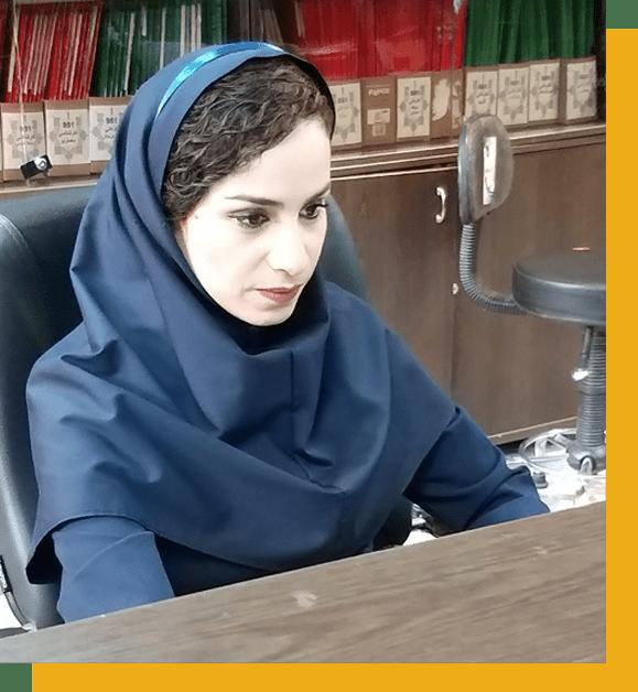 مرجان رحیمی کارشناس آموزش